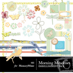 Morning Meadow Embellishment Pack-$3.00 (s.e.i)