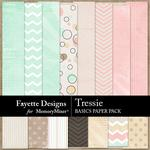 Tressie Basics Paper Pack-$3.99 (Fayette Designs)