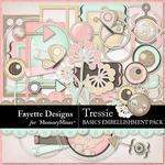 Tressie Basics Embellishment Pack-$3.99 (Fayette Designs)