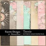 Tressie Hotmess Solids Paper Pack-$2.99 (Fayette Designs)
