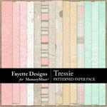 Tressie Patterned Paper Pack-$2.99 (Fayette Designs)
