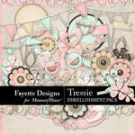 Tressie Embellishment Pack-$3.99 (Fayette Designs)