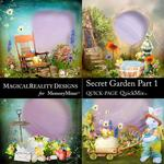 Secret Garden 1 MR QuickPages-$3.49 (MagicalReality Designs)