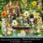 Secret Garden 1 MR Combo Pack-$6.99 (MagicalReality Designs)