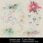 Love Story LJ Scatterz Pack-$1.99 (Lindsay Jane)