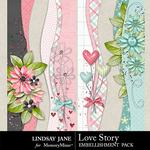 Love Story LJ Borders Pack-$1.99 (Lindsay Jane)