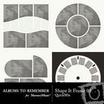 Shape It Frames 03 QuickMix-$3.49 (Albums to Remember)