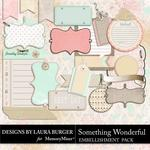 Something Wonderful Journal Pack-$2.49 (Laura Burger)