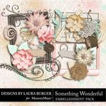 Something Wonderful Add On Embellishment Pack-$2.49 (Laura Burger)