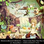 Sweet Little Fairytale Embellishment Pack 2-$4.49 (MagicalReality Designs)