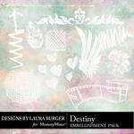 Destiny Stamps Pack-$2.49 (Laura Burger)