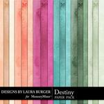 Destiny Solids Paper Pack-$3.49 (Laura Burger)