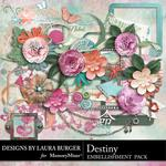 Destiny Embellishment Pack-$2.49 (Laura Burger)