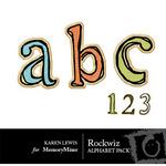 Rockwiz Alphabet Pack-$1.00 (Karen Lewis)