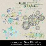 New Direction Scatterz Pack-$1.99 (Lindsay Jane)