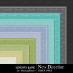 New Direction Embossed Paper Pack-$1.99 (Lindsay Jane)