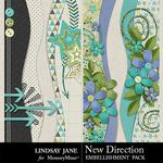 New Direction Borders Pack-$1.99 (Lindsay Jane)