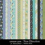 New Direction Paper Pack-$2.49 (Lindsay Jane)