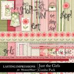 Just the Girls Combo Pack-$4.99 (Lasting Impressions)