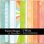 I Wish Basics Paper Pack-$3.99 (Fayette Designs)