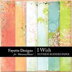 I Wish Hotmess Blends Paper Pack-$3.99 (Fayette Designs)