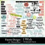 I Wish WordArt Pack-$1.99 (Fayette Designs)