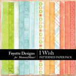 I Wish Patterned Paper Pack-$2.99 (Fayette Designs)