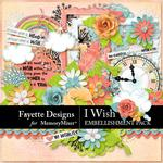 I Wish Embellishment Pack-$3.99 (Fayette Designs)