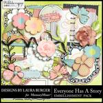 Everyone Has A Story Add On Embellishment Pack-$2.49 (Laura Burger)