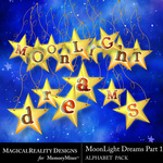 MoonLight Dreams Pt 1 Alphabet Pack 2-$3.89 (MagicalReality Designs)