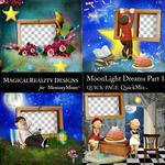 MoonLight Dreams Pt 1 QuickPages-$3.99 (MagicalReality Designs)