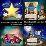 MoonLight Dreams Pt 1 Scenes Paper Pack 1-$2.00 (MagicalReality Designs)