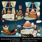 MoonLight Dreams Pt 1 Cluster Pack 2-$4.29 (MagicalReality Designs)