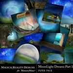 MoonLight Dreams Pt 1 Paper Pack 2-$2.00 (MagicalReality Designs)