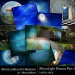 MoonLight Dreams Pt 1 Paper Pack 1-$3.99 (MagicalReality Designs)