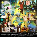 MoonLight Dreams Pt 1 Embellishment Pack-$2.25 (MagicalReality Designs)