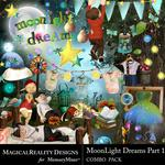 MoonLight Dreams Pt 1 Combo Pack-$3.50 (MagicalReality Designs)