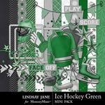 Ice Hockey Green Mini Pack-$2.10 (Lindsay Jane)