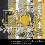 Ice Hockey Yellow Mini Pack-$2.10 (Lindsay Jane)