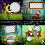 MoonLight Dreams Pt 2 QuickPages 2-$2.80 (MagicalReality Designs)