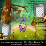 MoonLight Dreams Pt 2 Free QuickPage-$0.00 (MagicalReality Designs)