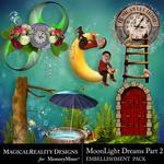 MoonLight Dreams Pt 2 Cluster Pack 2-$2.80 (MagicalReality Designs)