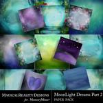 MoonLight Dreams Pt 2 Paper Pack 1-$3.99 (MagicalReality Designs)