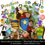 MoonLight Dreams Pt 2 Embellishment Pack-$4.49 (MagicalReality Designs)