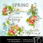Celebrate Spring Cluster Pack-$1.40 (Indigo Designs)