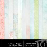 Celebrate Spring Paper Pack-$2.99 (Indigo Designs)