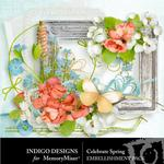 Celebrate Spring Embellishment Pack-$2.10 (Indigo Designs)