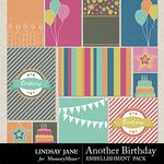 Another Birthday Journal Cards-$1.40 (Lindsay Jane)
