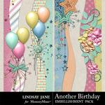 Another Birthday Borders Pack-$1.40 (Lindsay Jane)