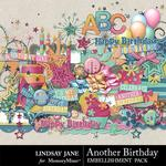 Another Birthday Embellishment Pack-$3.49 (Lindsay Jane)
